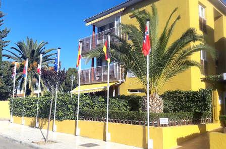 Escapada en El Albir en Apartamentos con detalles románticos
