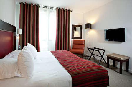 Week-end détente et romantique en chambre deluxe vue golf près de la côte d'Opale