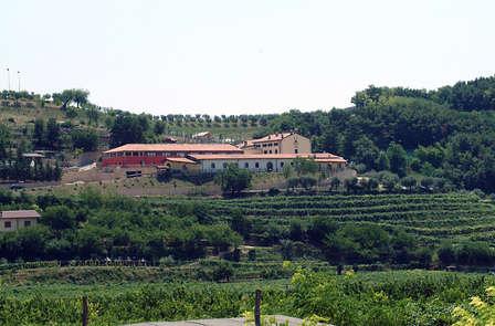 Nel verde delle colline venete tra Verona e Vicenza