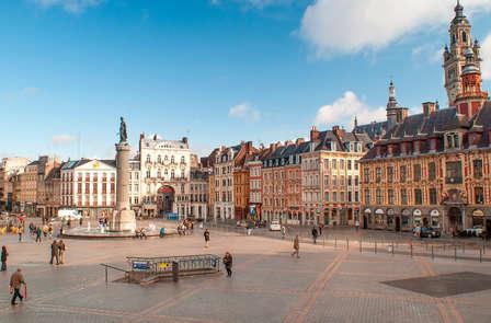 Ontdek het centrum van Lille incl. bezoek aan museum