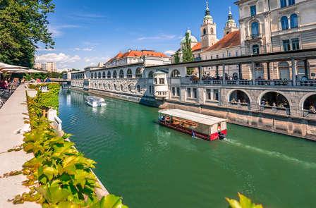 Tesoros naturales en el verde corazón de Eslovenia con cena