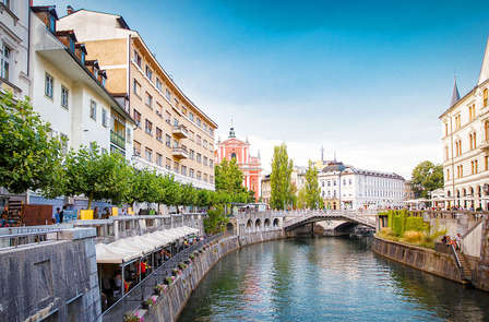 Turismo verde en la capital eslovena