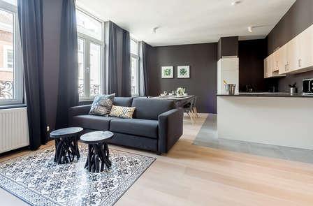 Verblijf in een modern appartement in Luik (tot 4 personen)