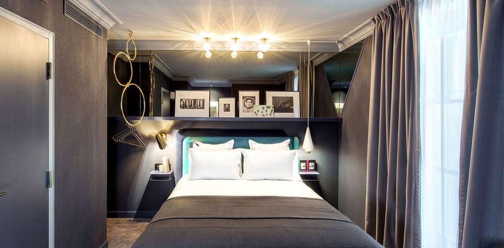 hotel bob by elegancia h tel de charme paris. Black Bedroom Furniture Sets. Home Design Ideas