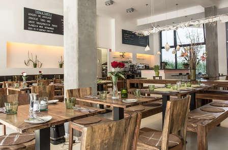 Week-end romantique avec dîner végétarien dans un hôtel certifié bio à Berlin