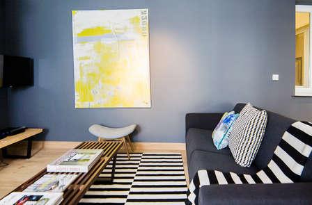 Verblijf in een modern appartement in Luik (tot 6 personen)