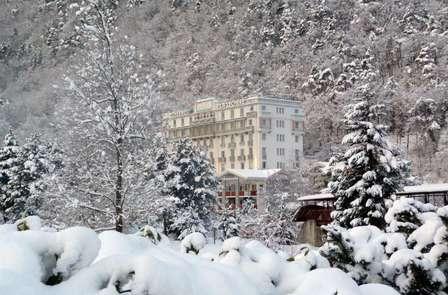Explora los Alpes con cena y acceso al spa