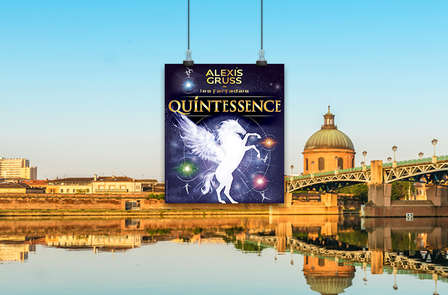 """Spectacle équestre et aérien """"Quintessence"""" et séjour en studio à Grenoble"""