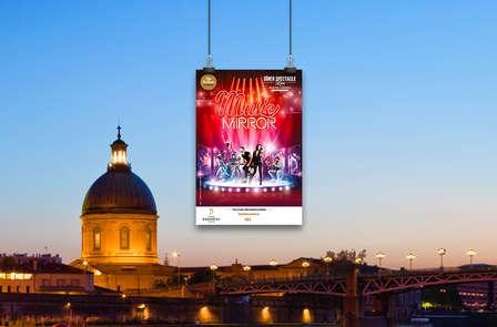 """Cóctel, espectáculo """"Music Mirror"""" y estancia 4* en el corazón de Toulouse"""