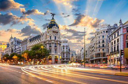 Scopri Madrid in un affascinante hotel di design