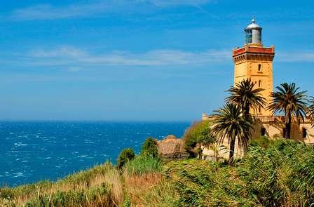 Massage en uitzicht over de baai van Tanger (vanaf 2 nachten)