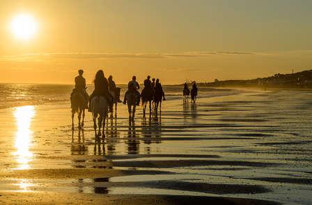 Escapada en habitación superior en Mazagón con paseo a caballo por Doñana