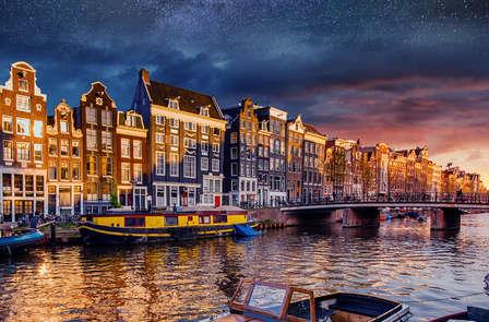 Dromen in Amsterdam-West nabij De Jordaan