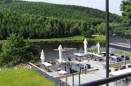 Romantiek in de Ardennen met diner