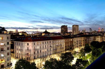 Scopri Milano, la città della moda, in un hotel con vista panoramica