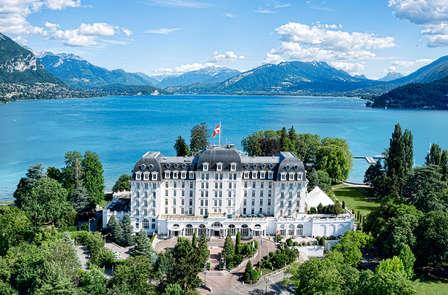 Spa et cadre enchanteur au bord du lac d'Annecy