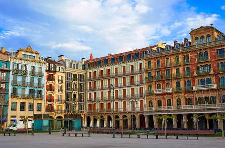 Romantiek in een centraal gelegen hotel in Pamplona
