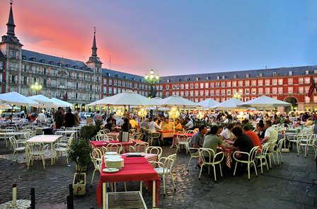 Proef de smaken van Madrid dicht bij de Puerta del Sol (vanaf 3 nachten)