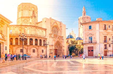 Cultuur in het historische centrum van Valencia