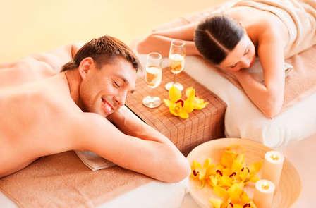 Parenthèse bien-être avec massage pour deux dans un cadre verdoyant aux portes de Paris