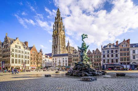 Romantiek in het veelzijdige centrum van Antwerpen