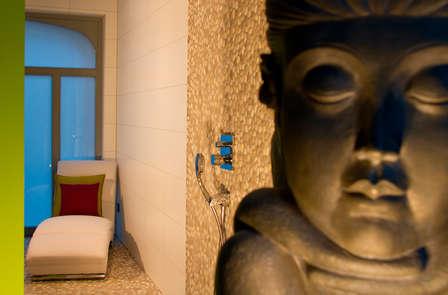 Geniet van de privésauna en een massage voor 2 in je eigen suite
