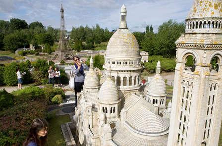 Week-end découverte en famille avec entrée au parc France Miniature près de Versailles