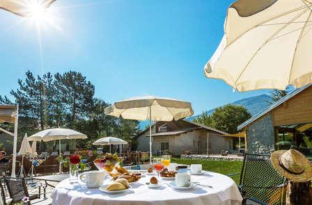 Week-end avec dîner près du lac de Serre Ponçon