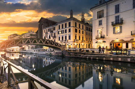 A las puertas de Milán en un hotel de encanto