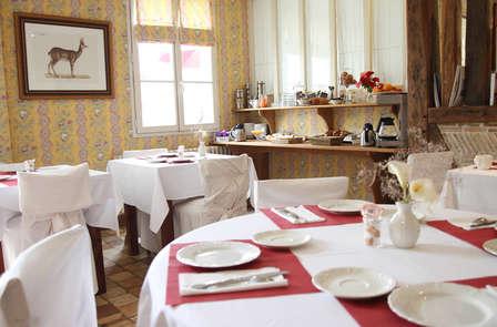 Week-end romantique avec dîner gastronomique près de la Roche Posay