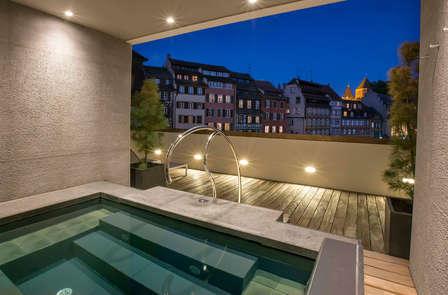 Week-end détente en amoureux dans un hôtel 5* à Strasbourg