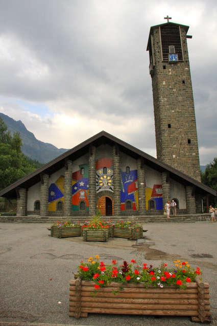 Église Notre-Dame-de-Toute-Grâce du plateau d'Assy