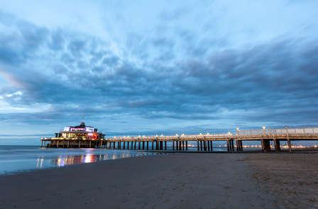 Notte romantica sulla costa delle Fiandre