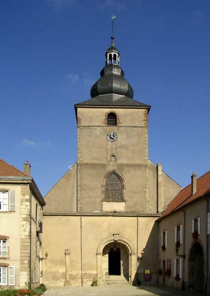 Abbaye Sainte-Croix de Bouzonville