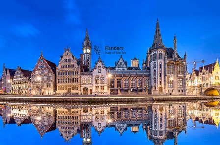 Luxe, historie en moderne kunst in Gent
