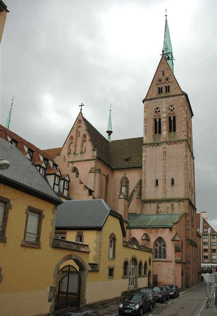 Église Saint-Pierre-le-Jeune protestante de Strasbourg