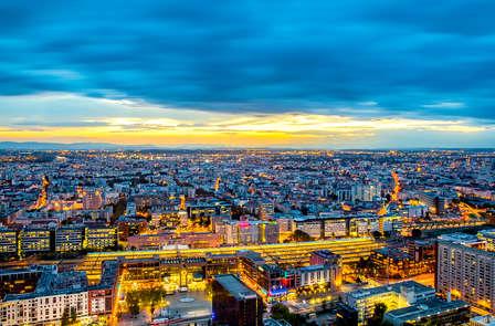 Panorama exceptionnel sur la ville de Lyon