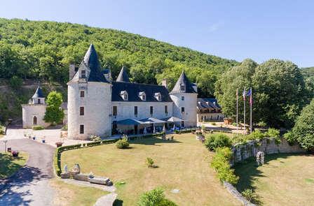 Week-end détente dans un château en Dordogne, à côté de Sarlat