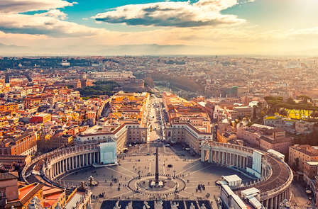 Geschiedenis op één stap van de Vaticaanse Musea (2 nachten)
