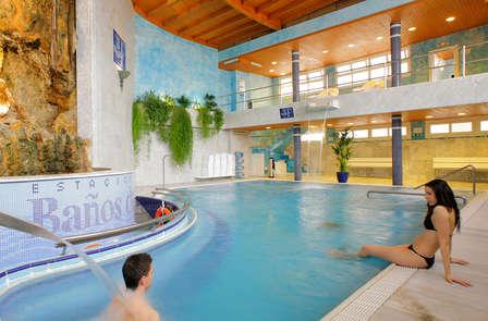 Hidroterapia y bienestar en plena naturaleza en Fitero