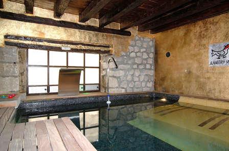 Luxe en wellness in een oude abdij in Ampudia