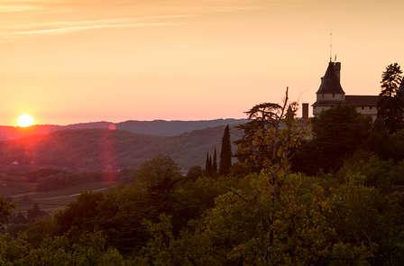 Week-end de charme avec visite de cave dans un superbe château près de Cahors