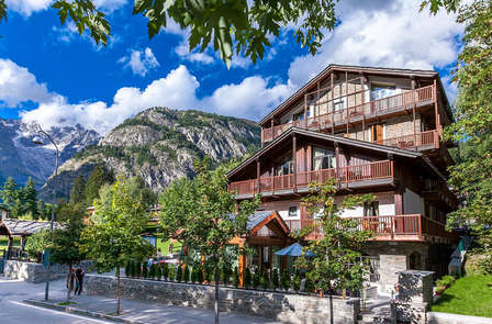 Confort tra le Alpi a Courmayeur