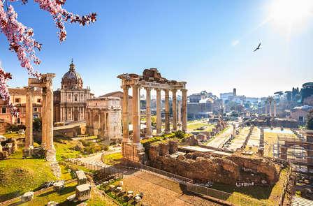 In het prachtige Rome met familie of vrienden