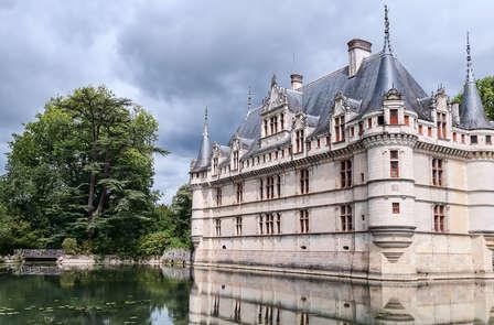 Descubre Villandry con visita al castillo de Azay-le-Rideau