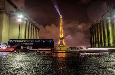 Citytrip aux portes de Paris avec dîner gastronomique dans un bus