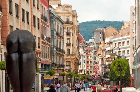 Tras los pasos de Fernando Alonso y descubriendo la capital de Asturias