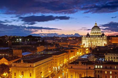Notti frizzanti a Roma con bollicine in camera (da 2 notti)