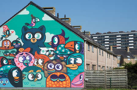Giro panoramico nella nota Street Art di Ostenda
