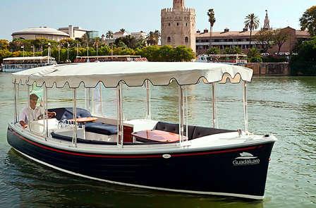 Escapada romántica con paseo en barco por el Guadalquivir